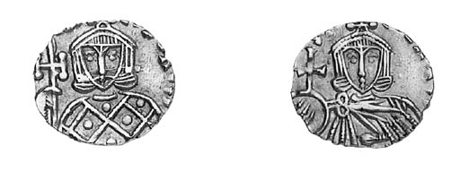 Solidus, Sicily, facing bust o
