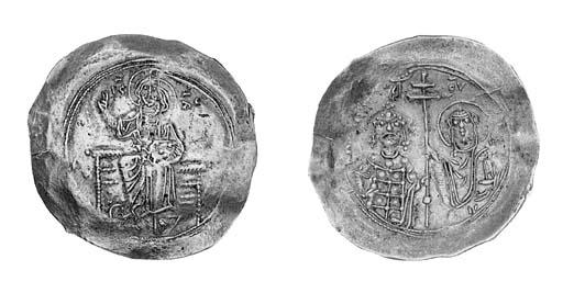 Hyperpyron, a similar coin (DO