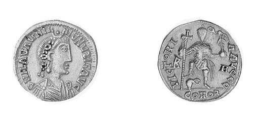 Solidus, a similar coin in a s