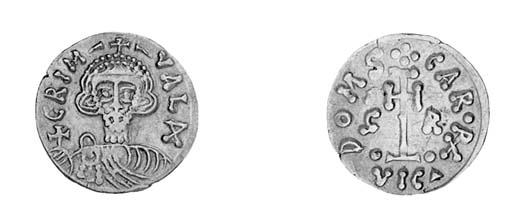 Tremissis, a similar coin (BMC