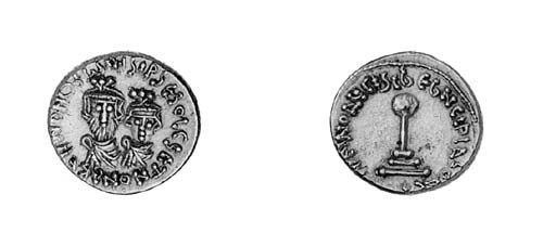Dinar or Solidus imitating Car
