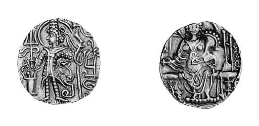 Kushans, Kipanada (c.385), Sta