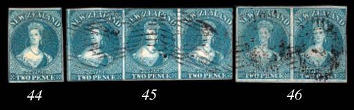 unused  2d. dull blue on blued