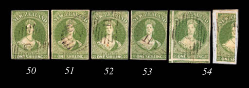 used  1/- pale yellow-green on