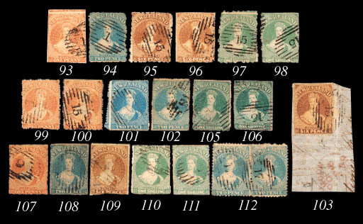 used  1/- blue-green with serr