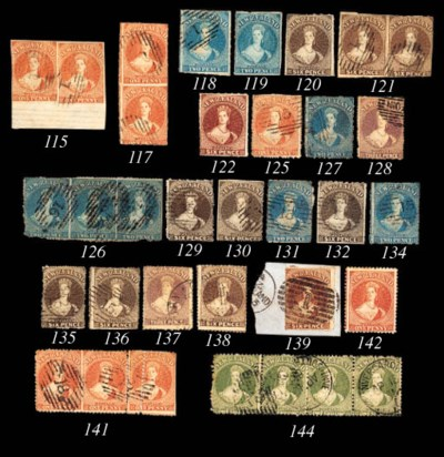 used  2d. deep blue, cancelled