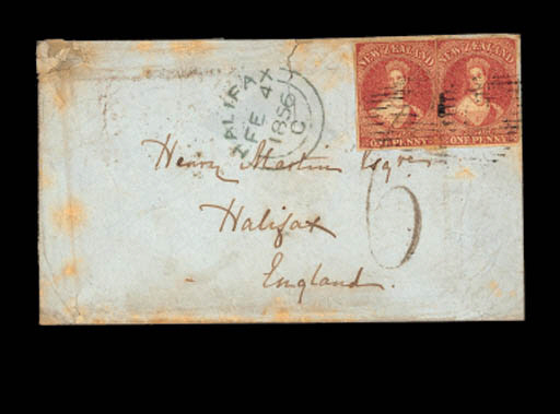 cover 1855 (12 Oct.) envelope