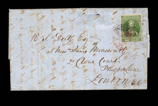cover 1858 (24 May) entire let