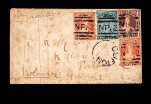 cover 1866 (1 Mar.) envelope f