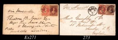 cover 1866 (7 Mar.) envelope f