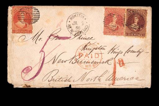 cover NEW BRUNSWICK: 1866 (9 J