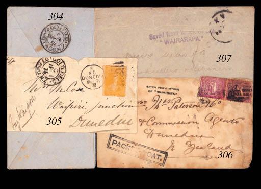 cover 1894 (Nov.) envelope fro
