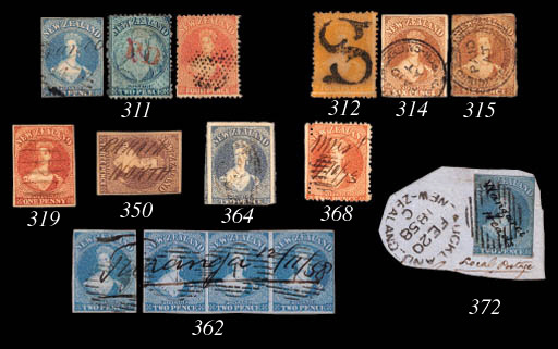 used  1858-62 6d. brown cancel