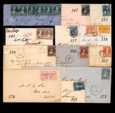 cover STOKE: 1873 (25 Sept.) e