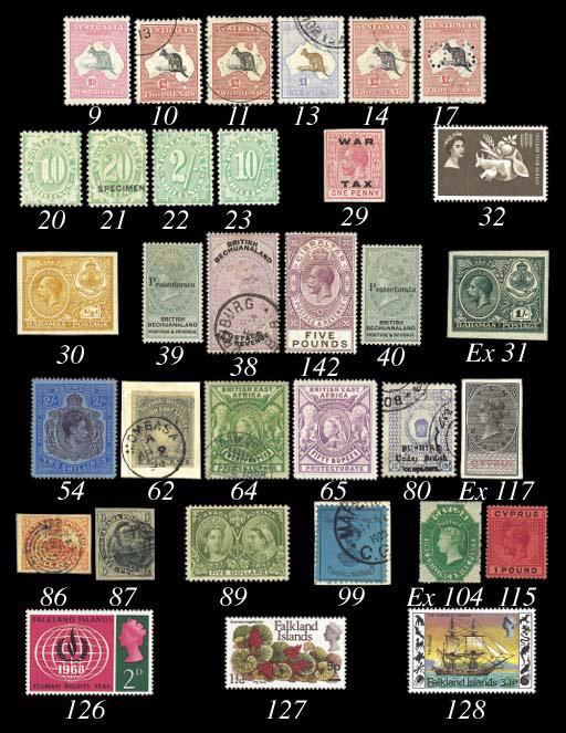 unused  1897 Jubilee $5 with l