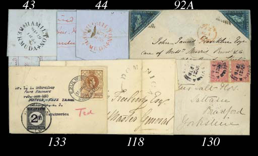 cover POSTAGE DUES: 1951 (31 J