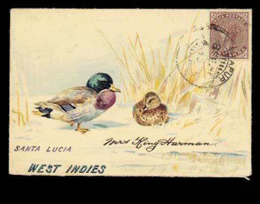 cover 1900 (Feb.) envelope ex