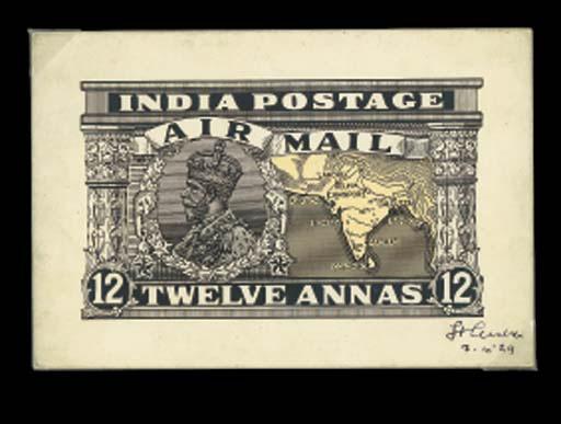 Air Mail essay  1929 Air 12a.,
