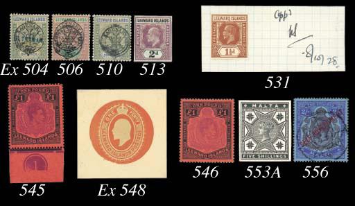 Specimen   1897 Jubilee ½d. to