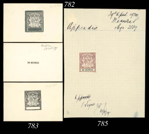 Proof  50r. imperforate proof