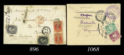 cover 1864 (June) envelope fro