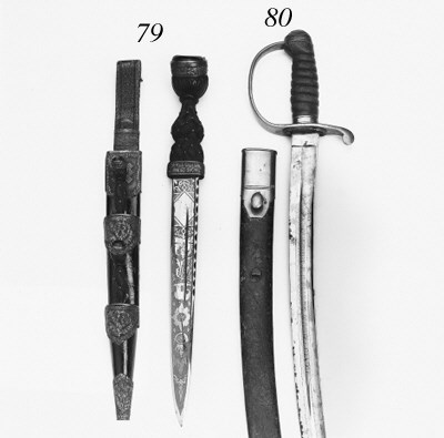 A Victorian Dirk of the Highla