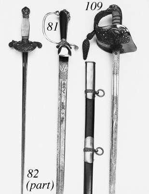 A Group of Straight-bladed Swo