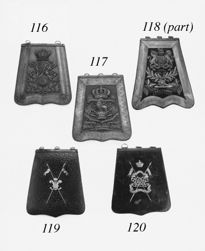 An Officer's Sabretache of the 15th Hussars