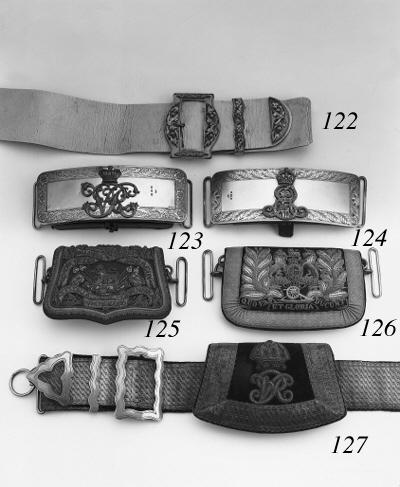 A Victorian Officer's Pouchbel