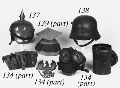 German WW1 Equipment