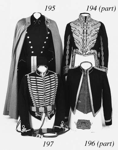 An Assortment of Military Uniform
