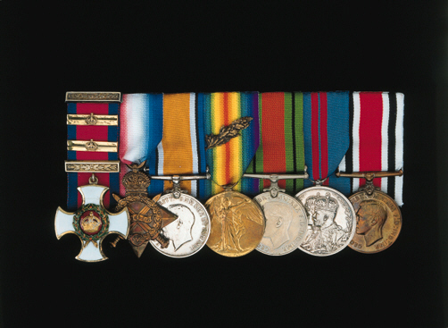 An Extremely Rare and Impressive Great War 'Triple D.S.O.' Group of Seven to Lieutenant-Colonel J.G. Rees, Welsh Horse, Attached 25th Royal Welsh Fusiliers, Late 13th Hussars, Distinguished Service Order, G.V.R., silver-gilt and enamel, with Second and Third Award Bars; 1914-15 Star (Major, Welsh H.); British War and Victory Medals, M.I.D. Oakleaf (Lt. Col.); Defence Medal 1939-45; Delhi Durbar 1911; Special Constabulary Faithful Service, G.VI.R. (Comdt.), good very fine 	 (7)