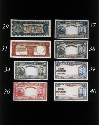 Commonwealth Issue, £5, undate