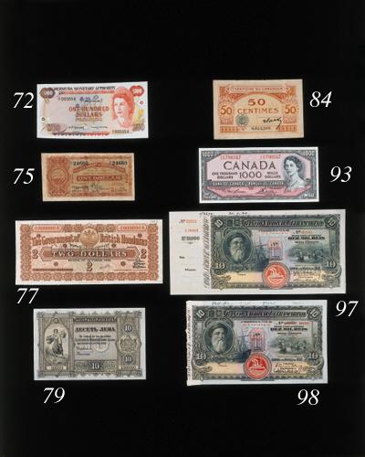 Monetary Authority, $100, 2 Ja