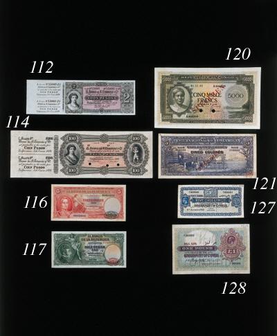 Banco de la Republica, colour