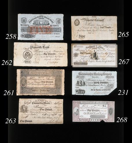 Plymouth Bank, £1, 1 January 1