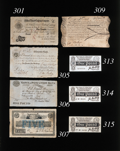 John Bradbury, £1, undated (19
