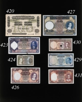 Government Issue, 100-Rupees,