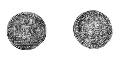 Philip VI (1328-50), Écu d'or