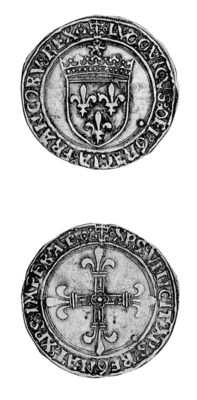 Louis XII, another, 3.36g., Ly