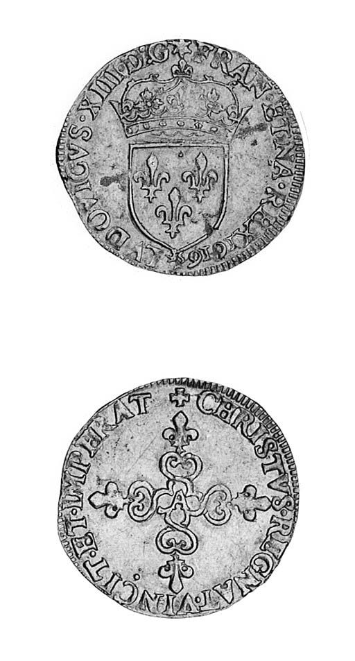 Louis XIII (1610-43), Écu d'or