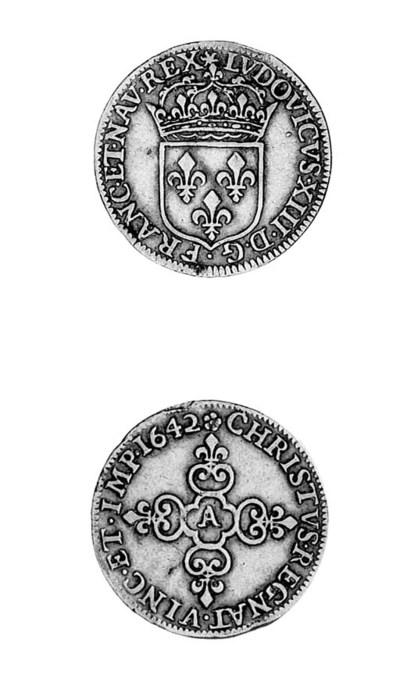 Louis XIII, Écu d'or au soleil