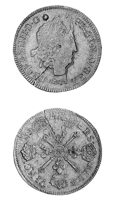 Louis XIV, Double Louis d'or a
