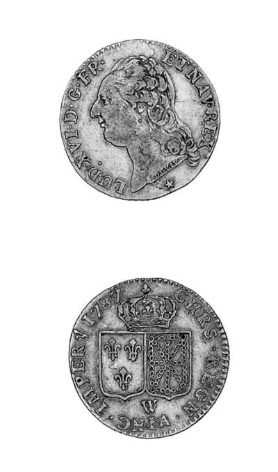 Louis XVI, Louis d'or (au bust