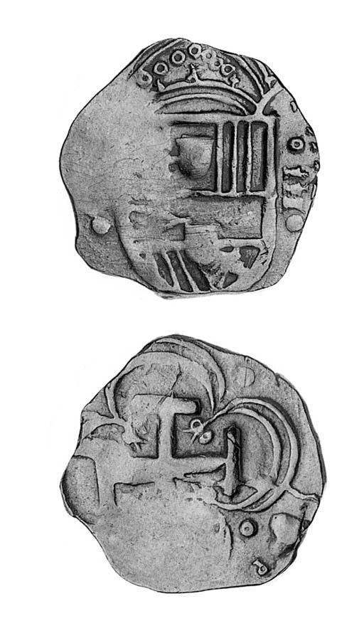 Spain, Philip II, cob 2-Escudo