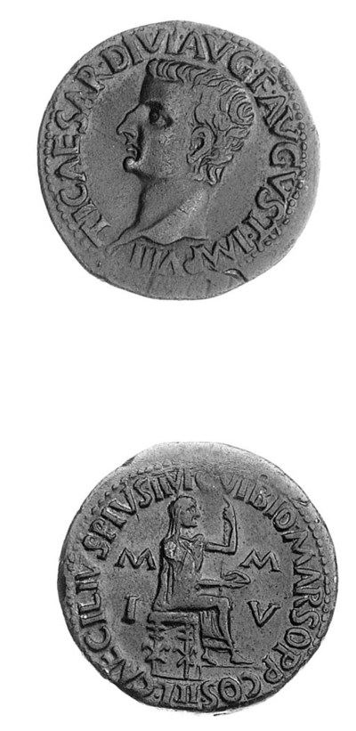 Tiberius (A.D. 14-37), rev. Æ
