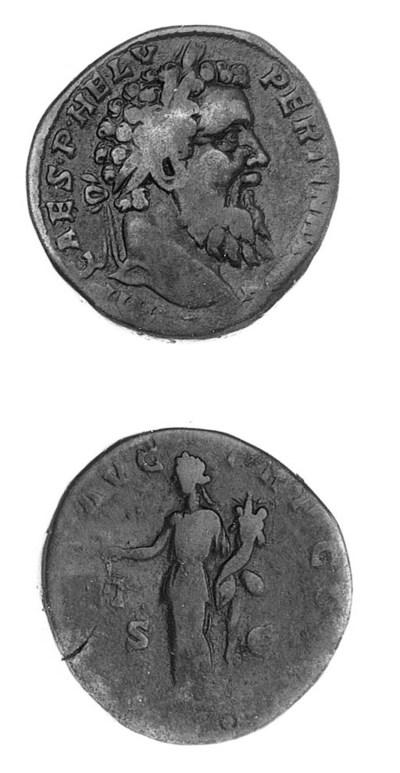 Pertinax (A.D. 193), Sestertiu