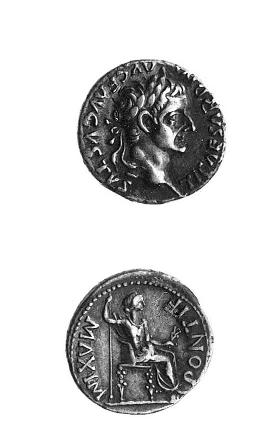 Tiberius (AD 14-37), Denarius,