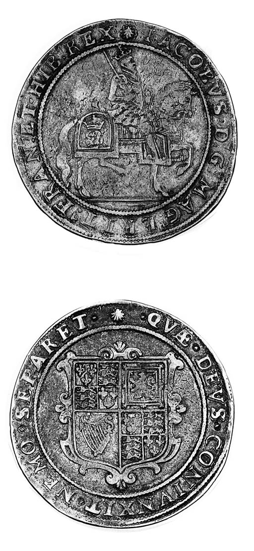 James I, second coinage, Crown