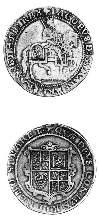 James I, third coinage, Crown,